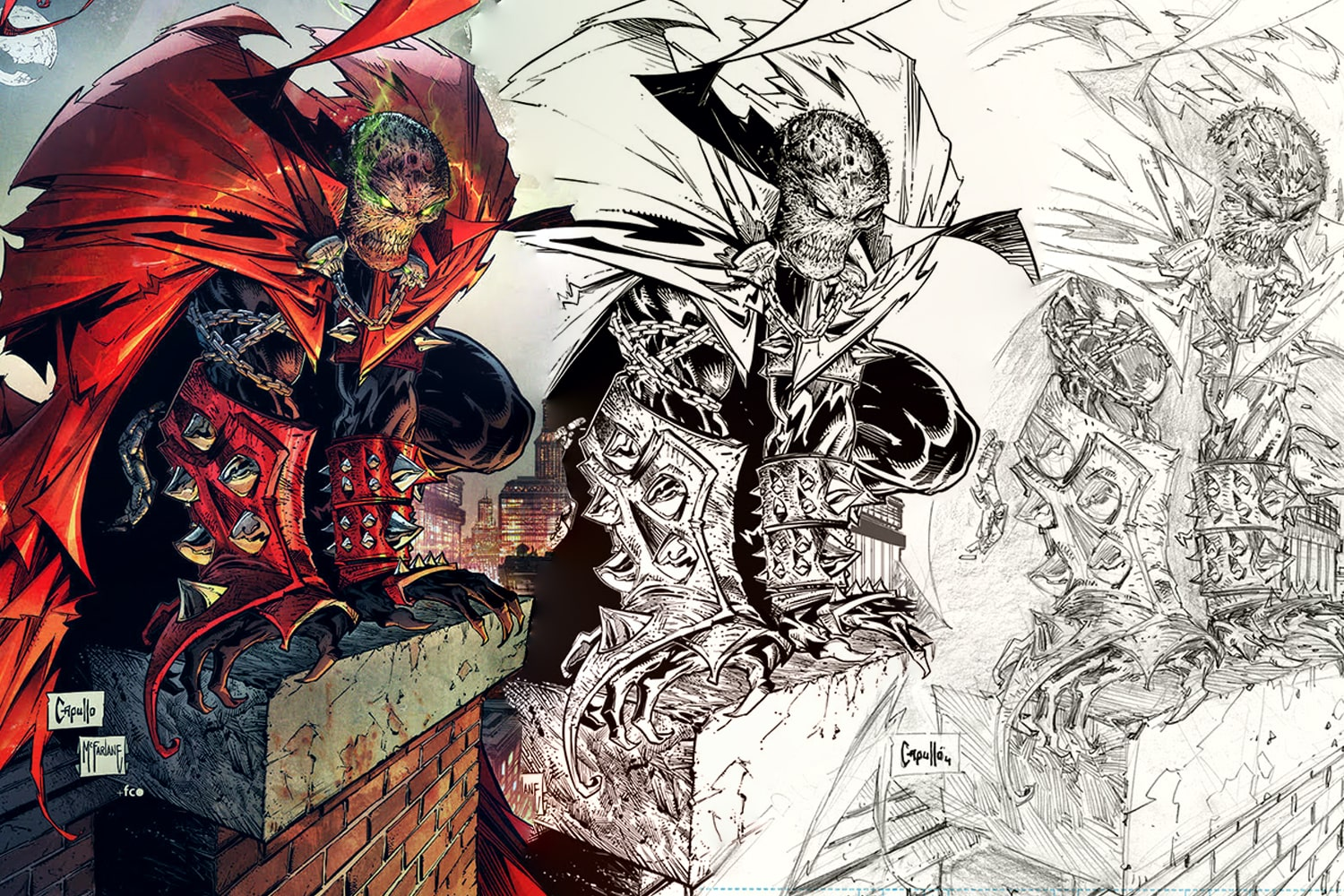 'Spawn' #315 acquires Björn Barends, Stephen Segovia, and 3 covers by Greg Capullo