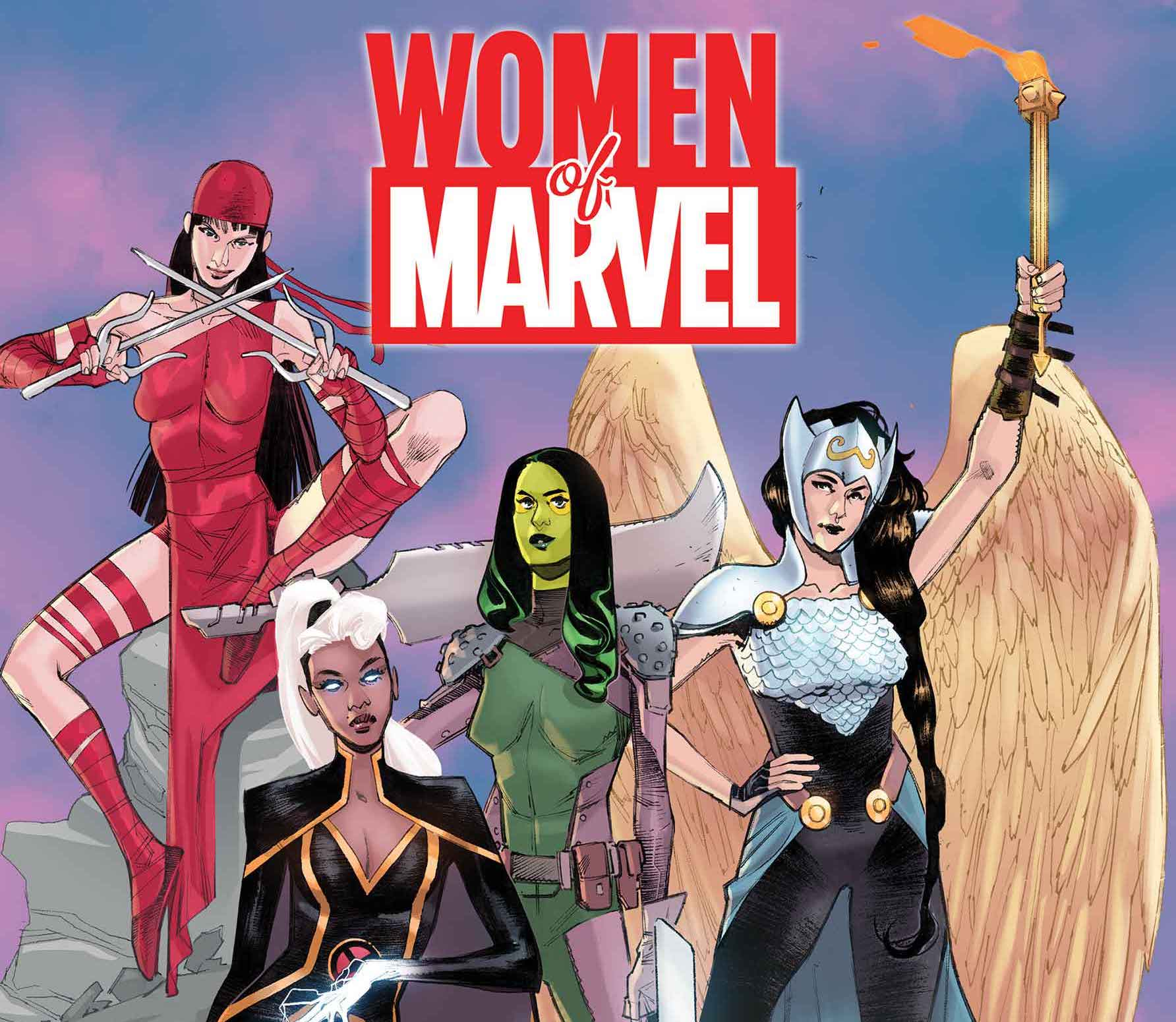 All-star creators celebrate the women of Marvel in upcoming special