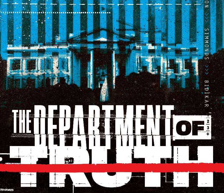 James Tynion IV talks 'Department of Truth' and exposing real-life conspiracy theories