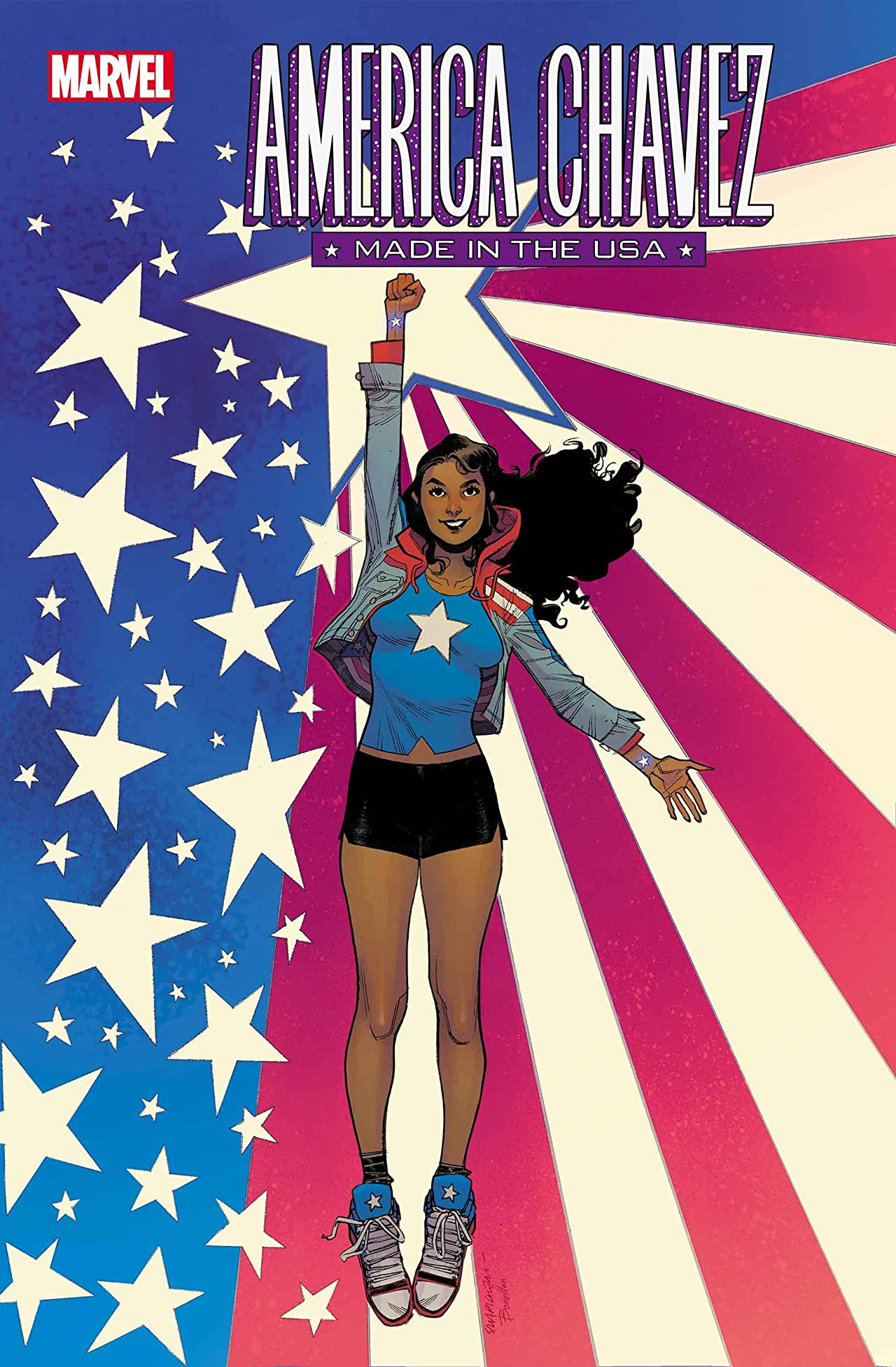 Marvel First Look: America Chavez: Made In The USA #1