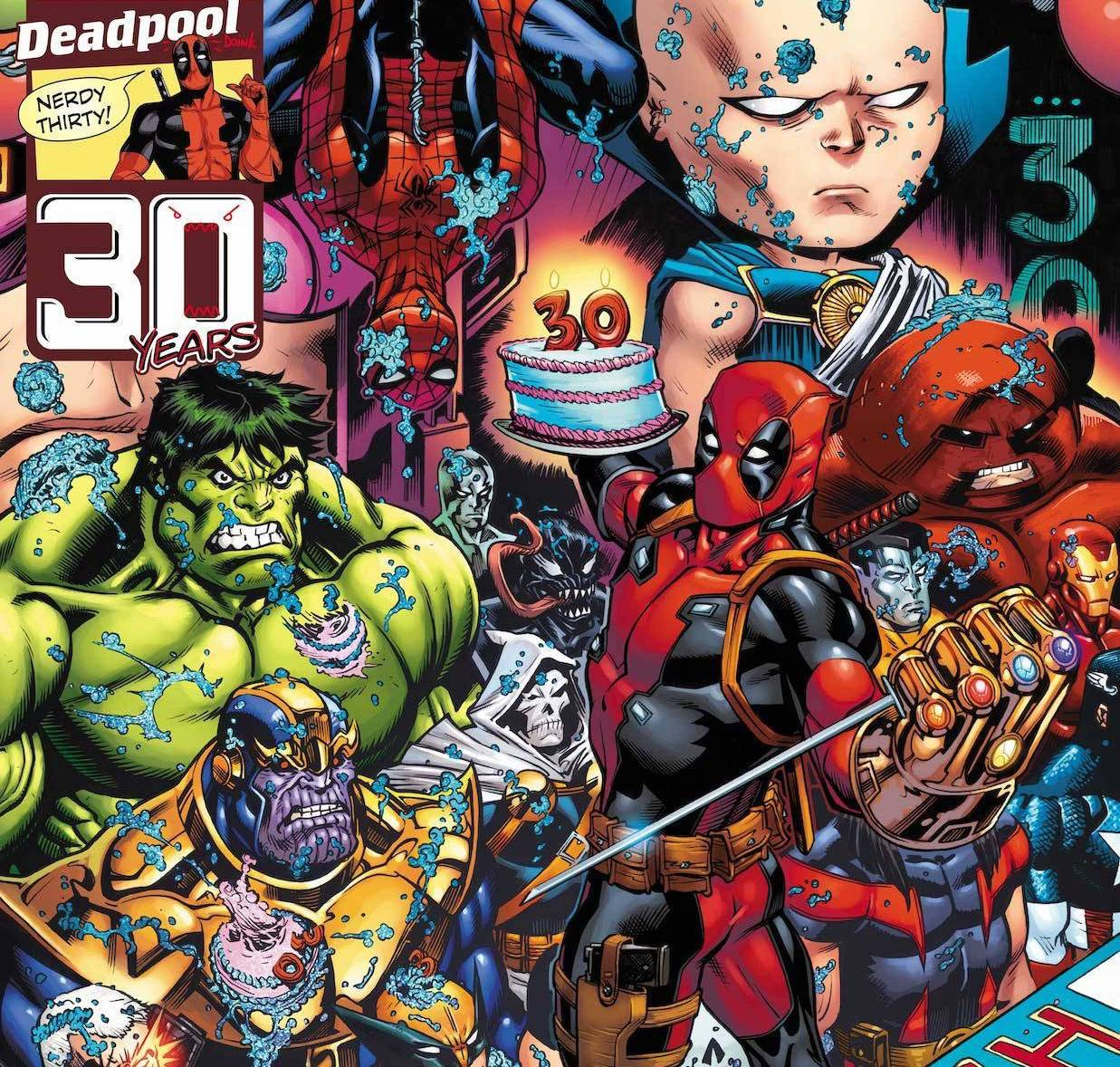 Marvel throwing birthday party for Deadpool February 25th