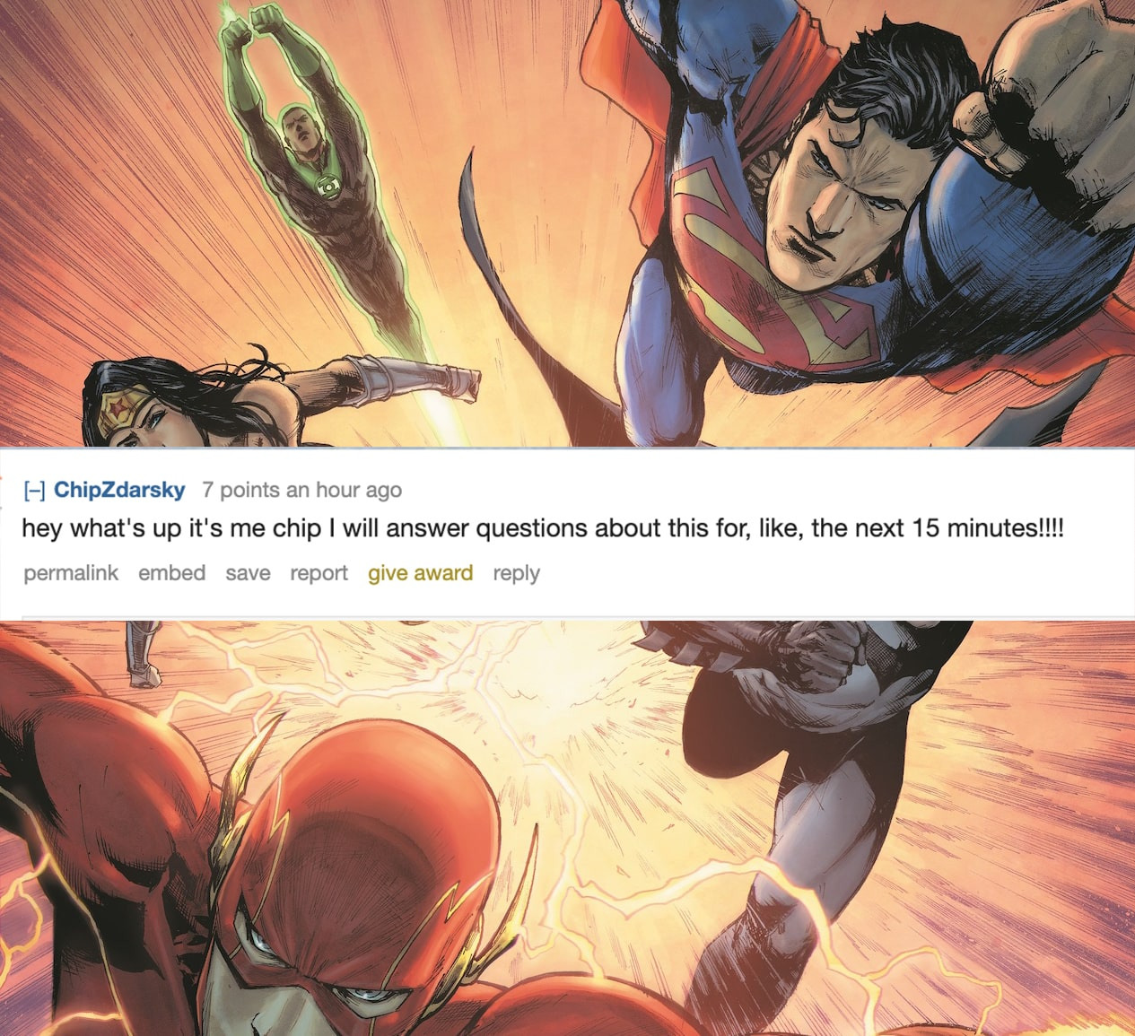 Chip Zdarsky has entered the chat: Answering 'Justice League' questions