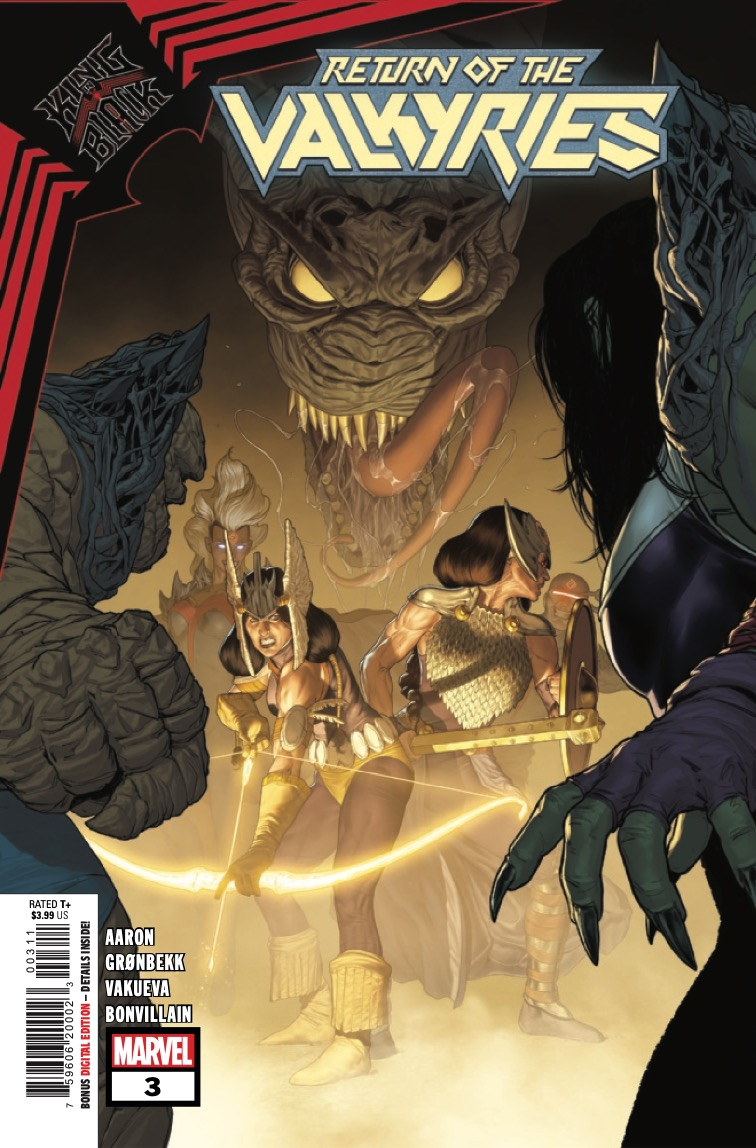Marvel Preview: King in Black: Return of the Valkyries #3