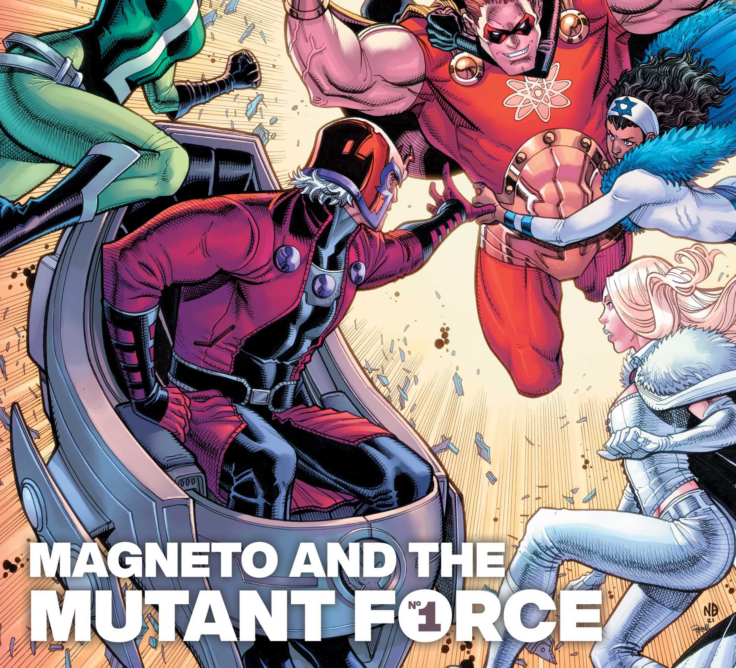 Exclusive Marvel First Look: Heroes Reborn: Magneto & The Mutant Force #1