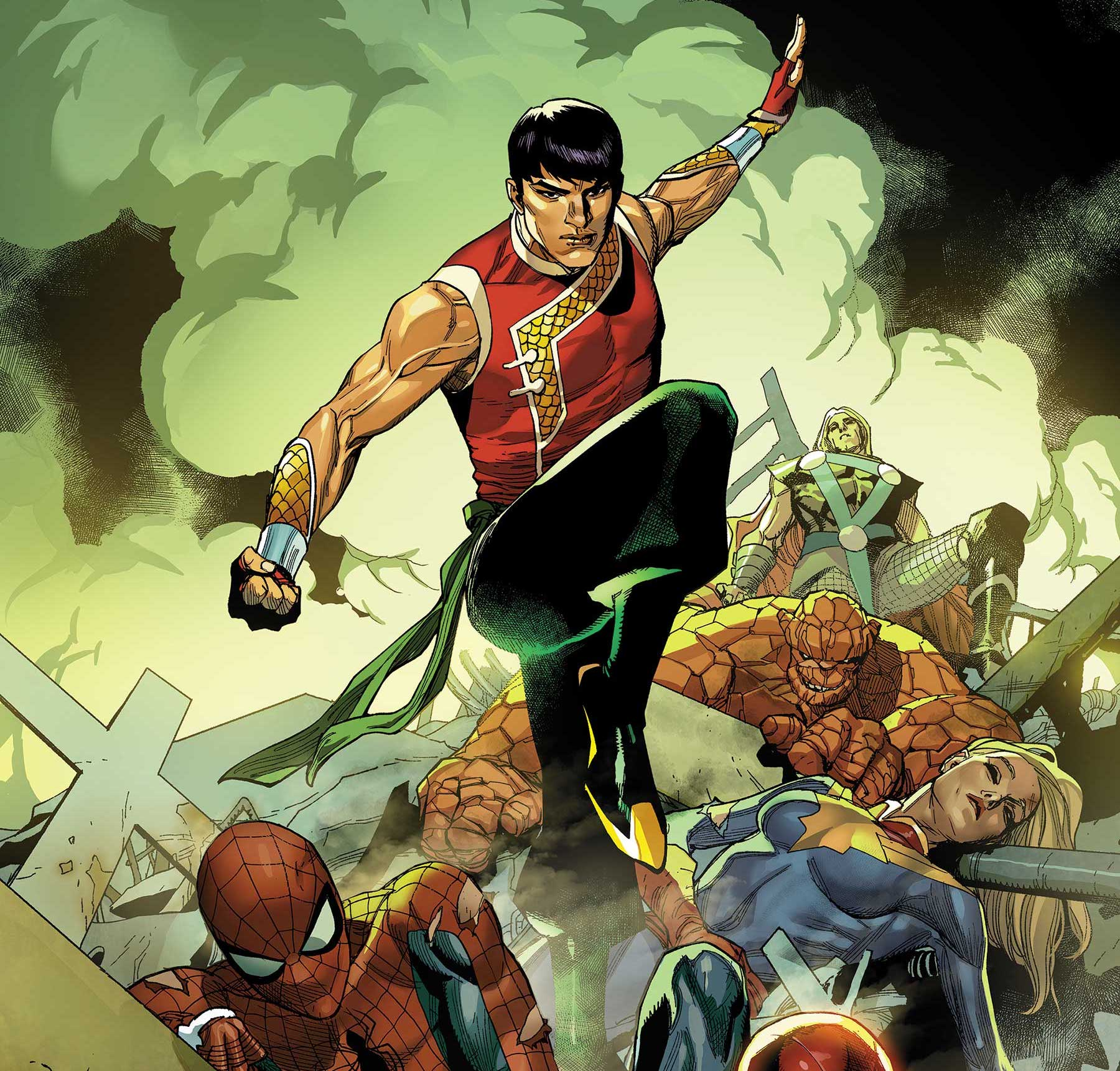 Marvel Comics announces 'Shang-Chi' to return as ongoing series