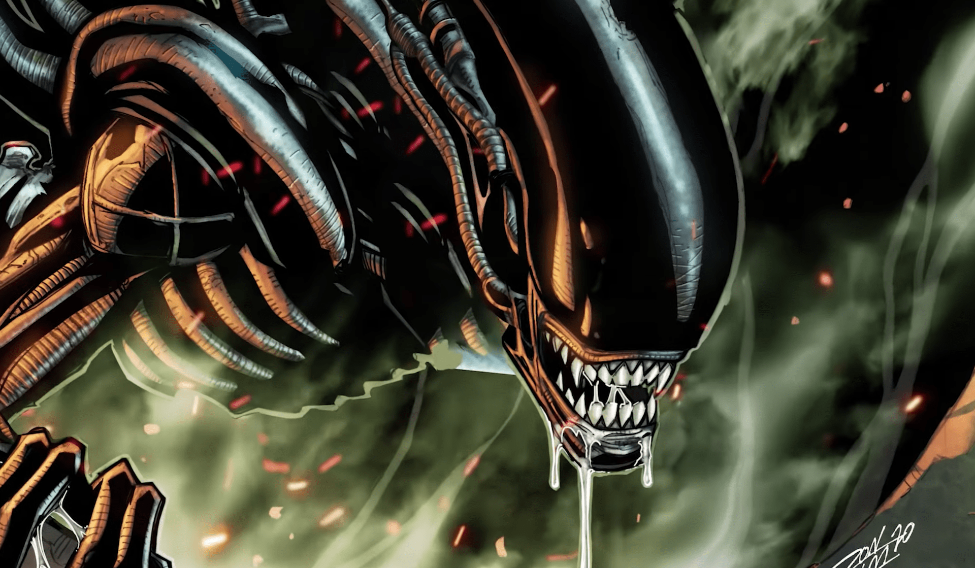 Marvel Comics teases 'Alien' series with new trailer