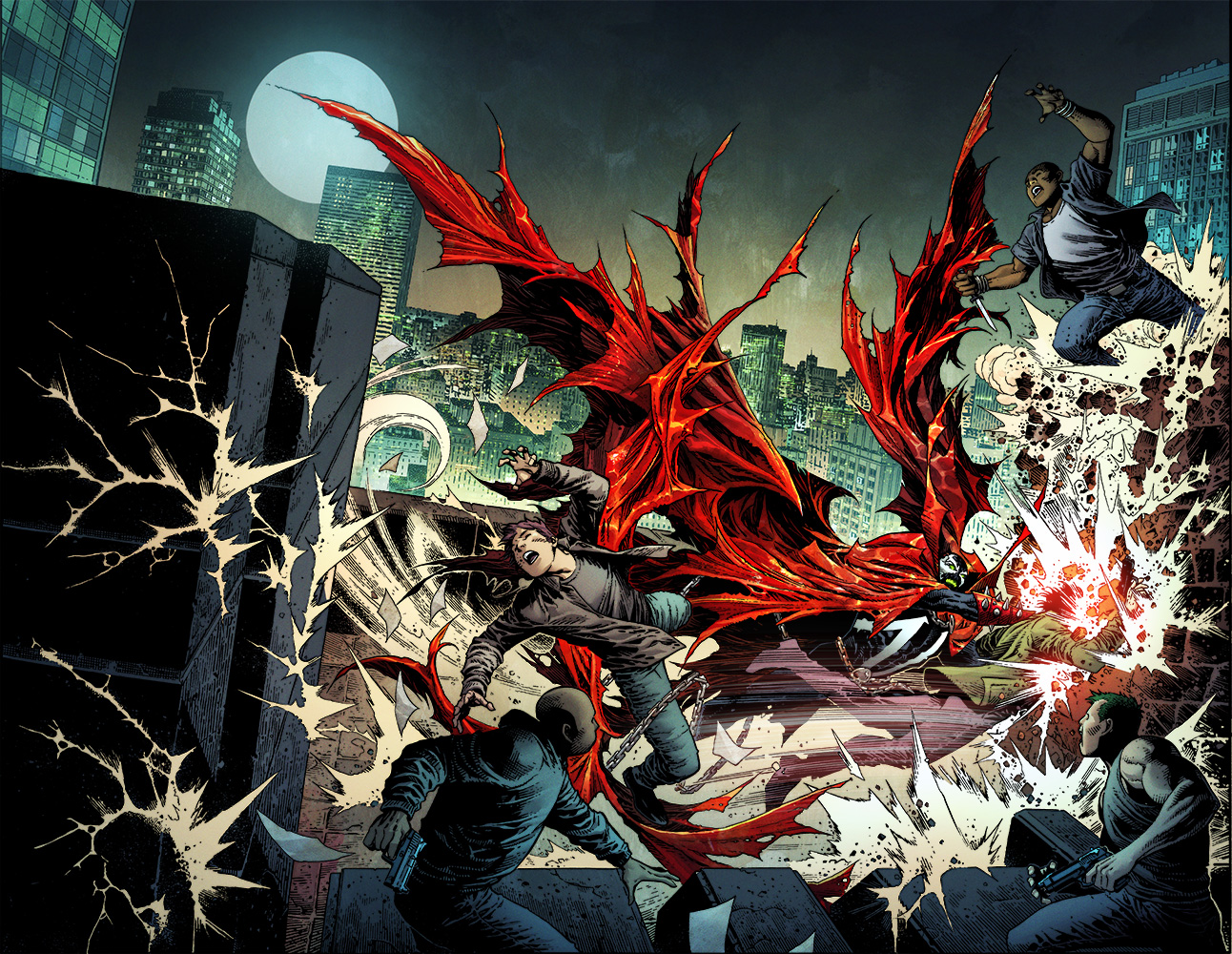 Todd McFarlane announces four new 'Spawn' titles in new shared universe push