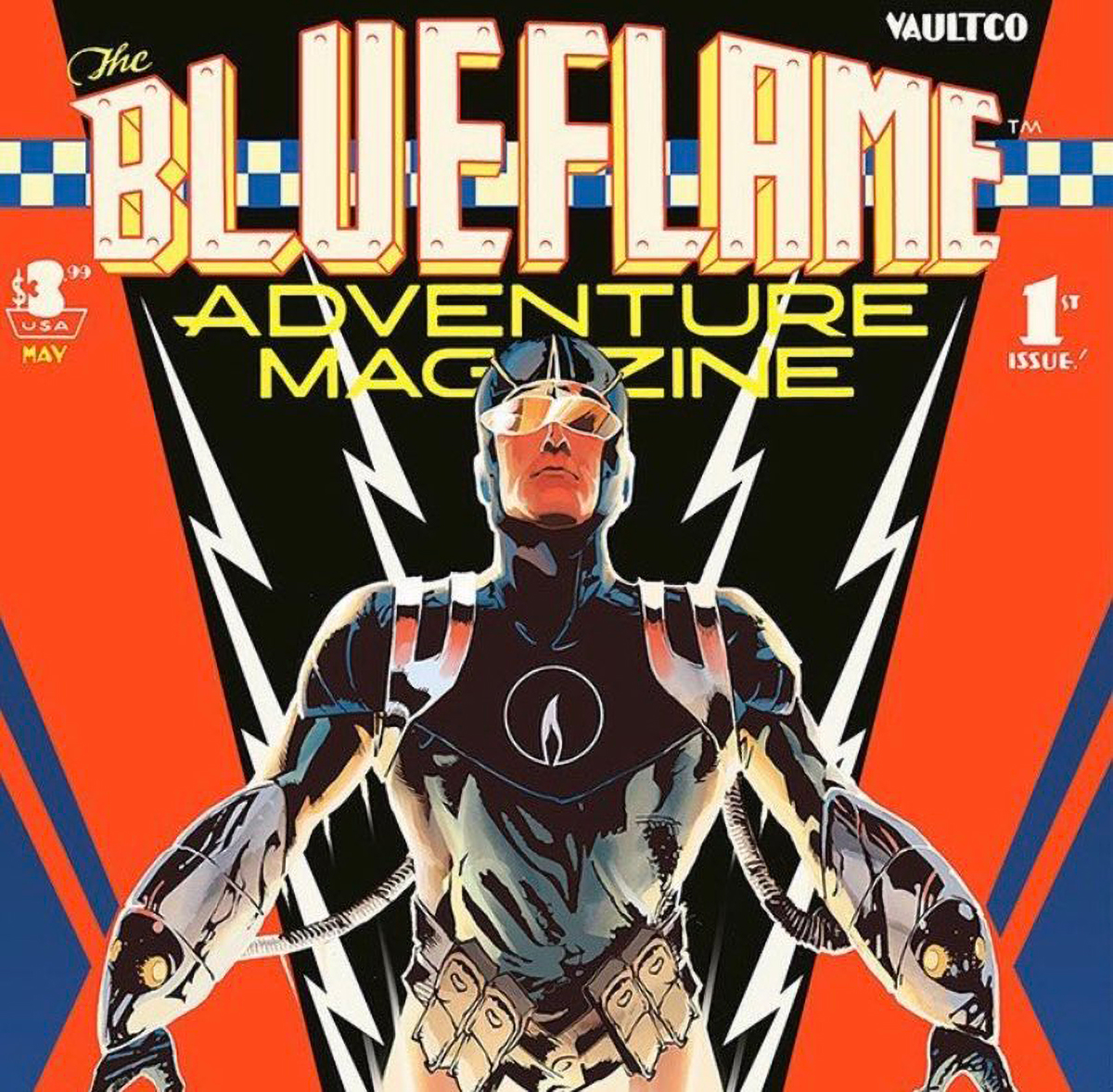 Vault Comics launching 'The Blue Flame' from Chris Cantwell & Adam Gorham
