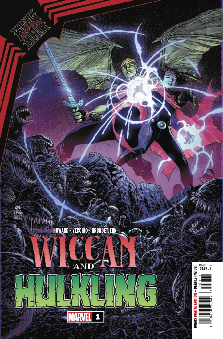 Marvel Preview: King In Black: Wiccan And Hulkling #1