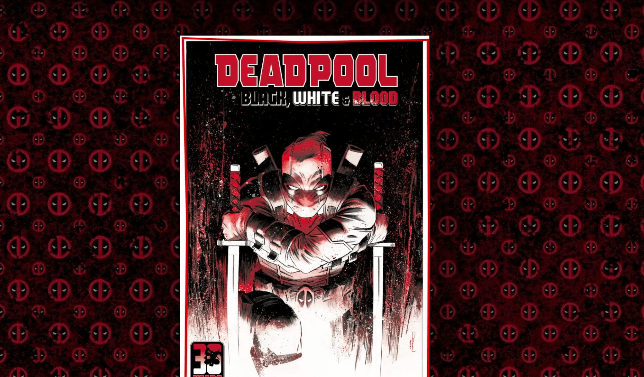 C.B. Cebulski announces 'Deadpool: Black, White & Blood' for later this year