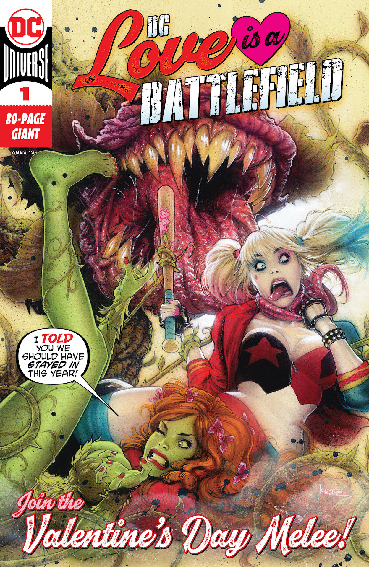 DC Preview: Love is a Battlefield #1