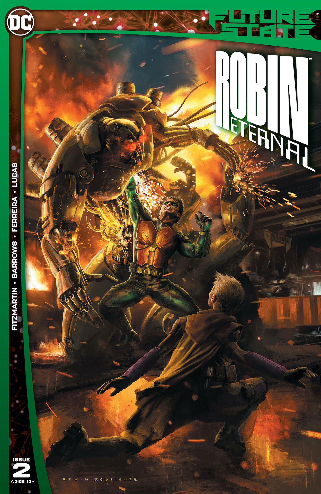 DC Preview: Future State #2: Robin Eternal