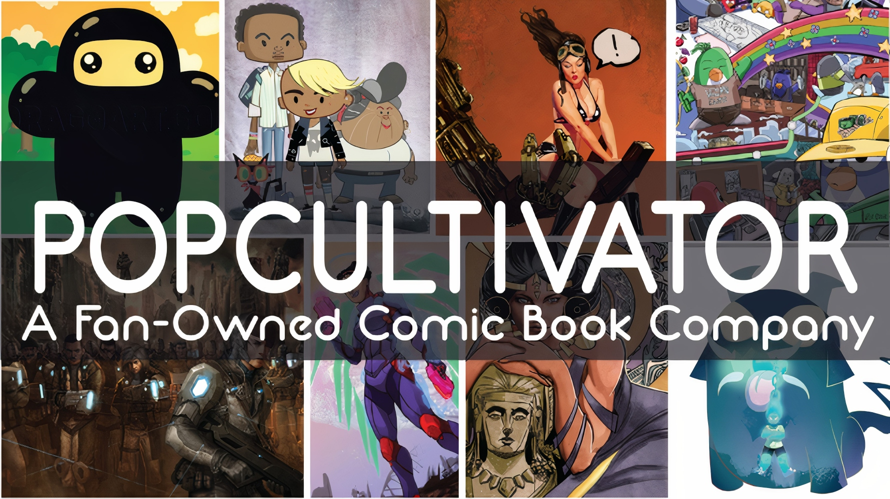 Shock the system: PopCultivator wants to re-write the comics industry