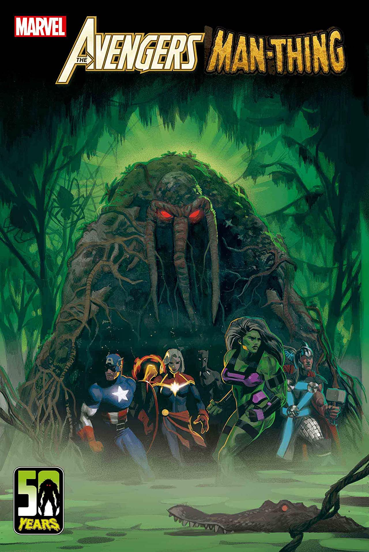 Marvel First Look: Avengers: Curse of the Man-Thing #1