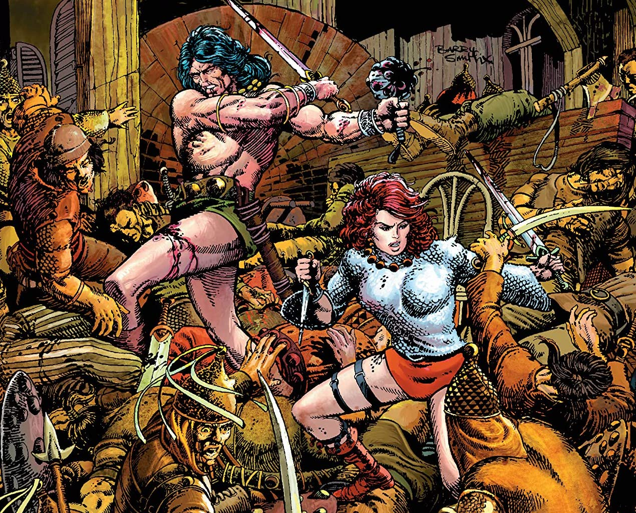 Conan The Barbarian Epic Collection: Hawks From the Sea