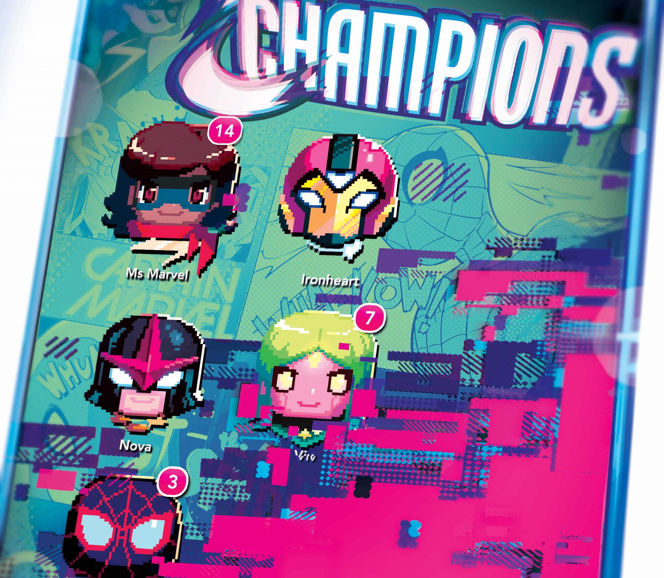 EXCLUSIVE Marvel First Look: Champions #8