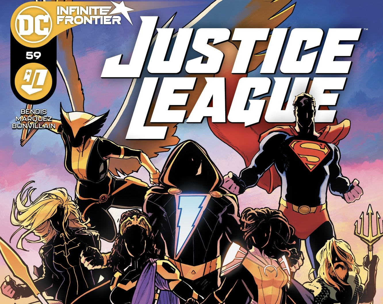 Justice League 59 Cover by David Marquez