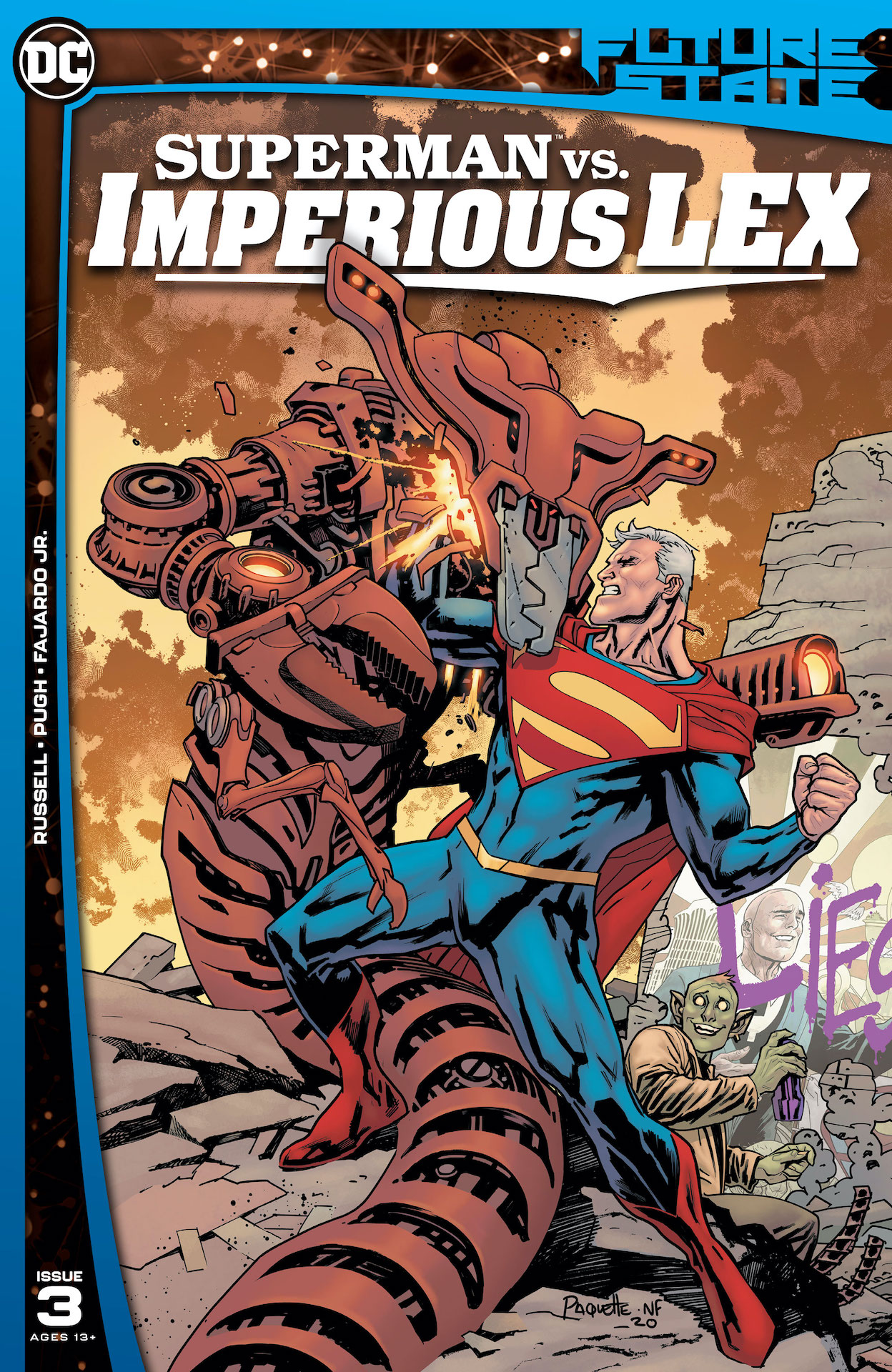 DC Preview: Future State #3: Superman vs. Imperious Lex