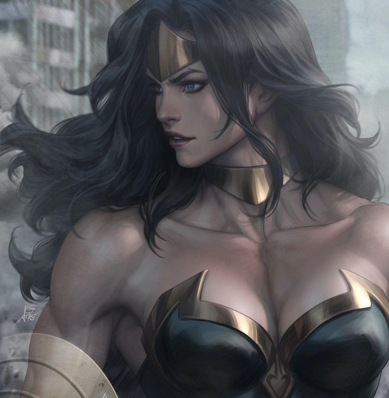 Marvel Comics asks us to power up for Artgerm Power Princess cover