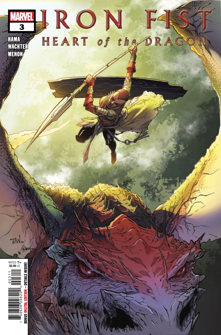 Marvel Preview: Iron Fist: Heart of the Dragon #3