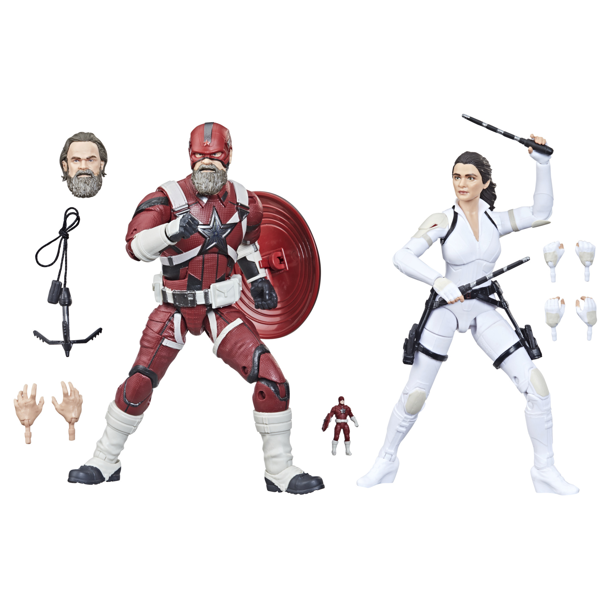 Marvel Legends: New 'WandaVision' and 'Black Widow' movie figures revealed