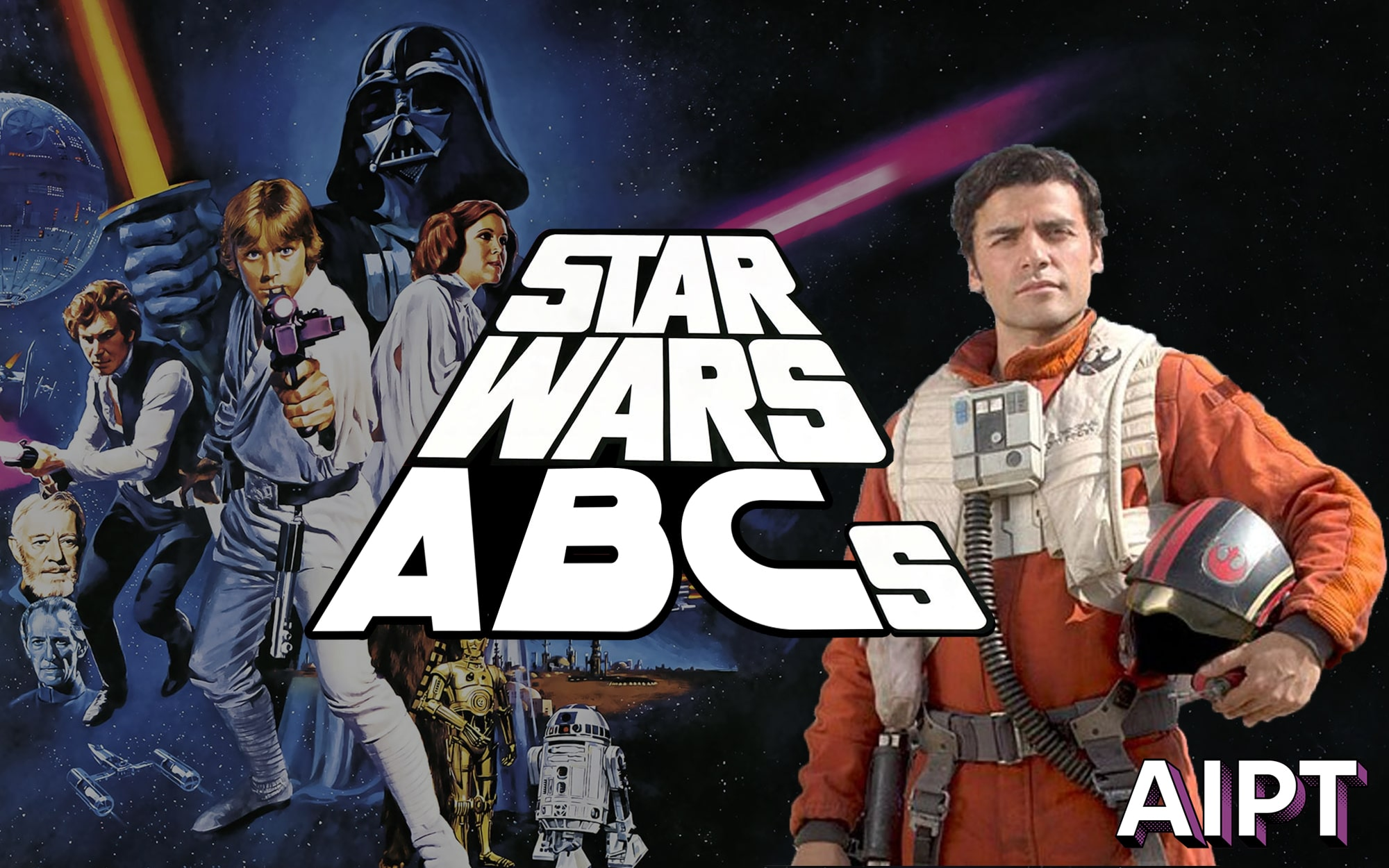 Star Wars ABCs: P is for Poe Dameron
