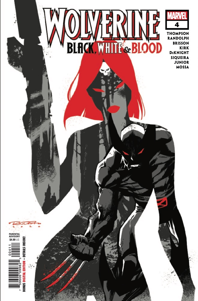 Marvel Preview: Wolverine: Black, White & Blood #4