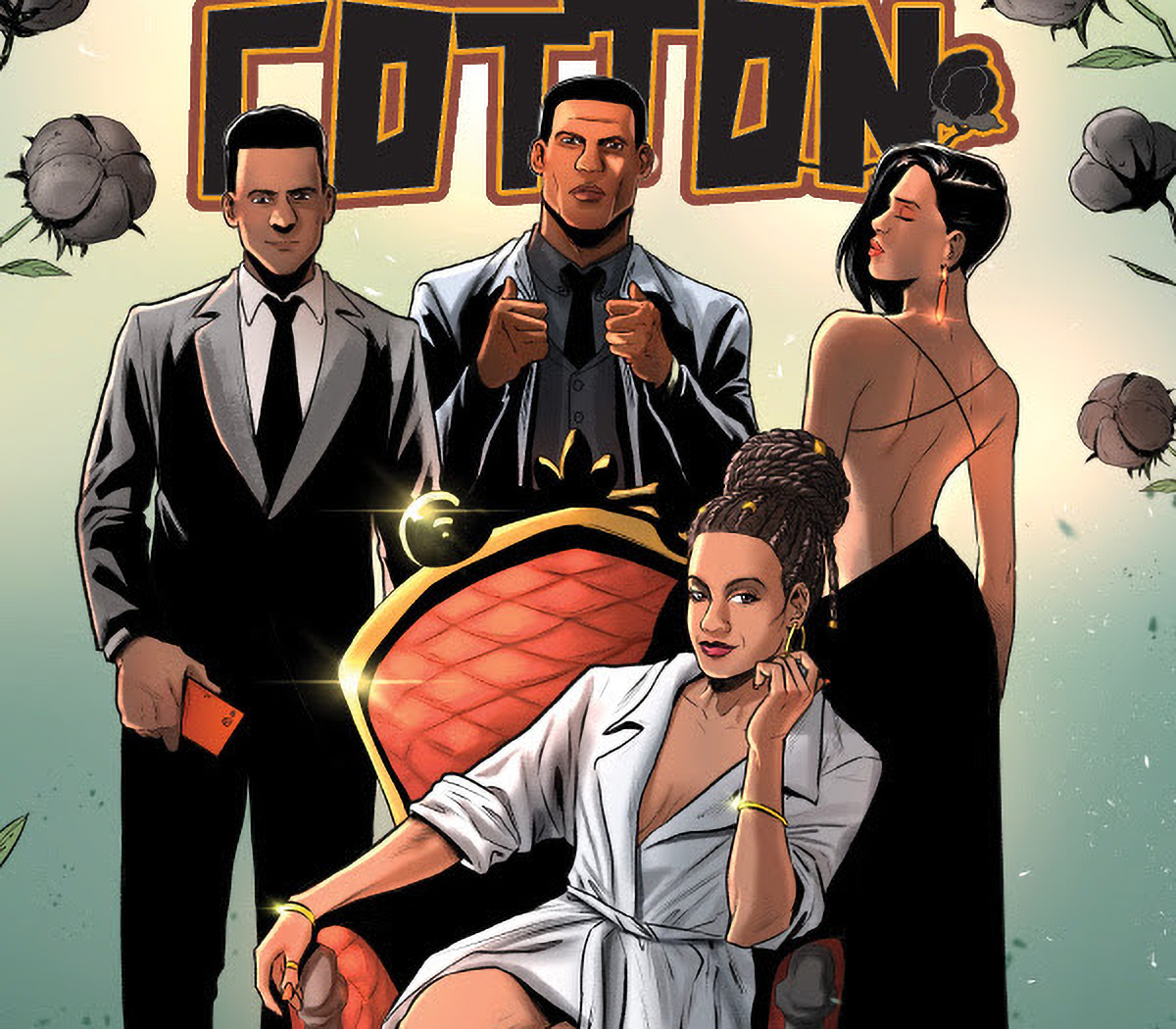 Scout Comics sends 'Black Cotton' #1 back for second printing