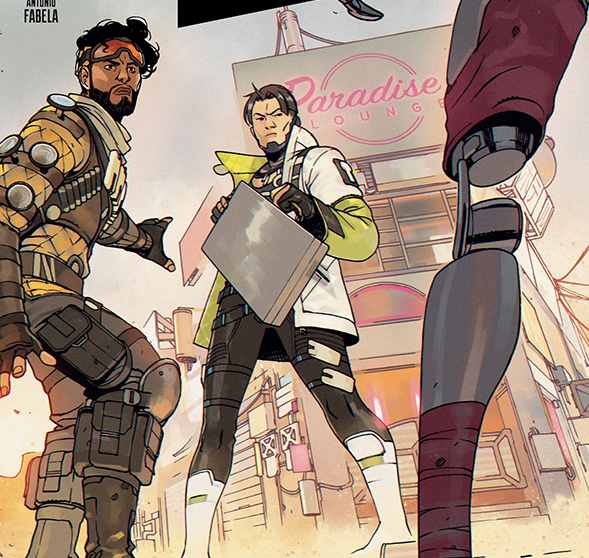 An 'Apex Legends' comic book miniseries is coming from Dark Horse