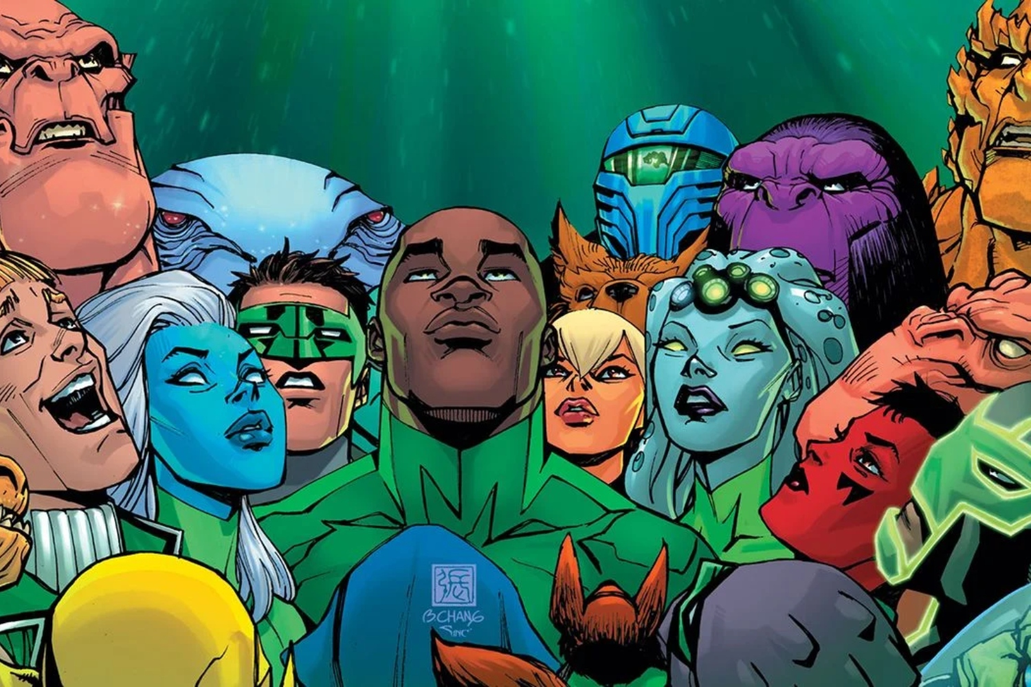 "Geoffrey Thorne promises a ""bumpy ride"" for upcoming 'Green Lantern' series"
