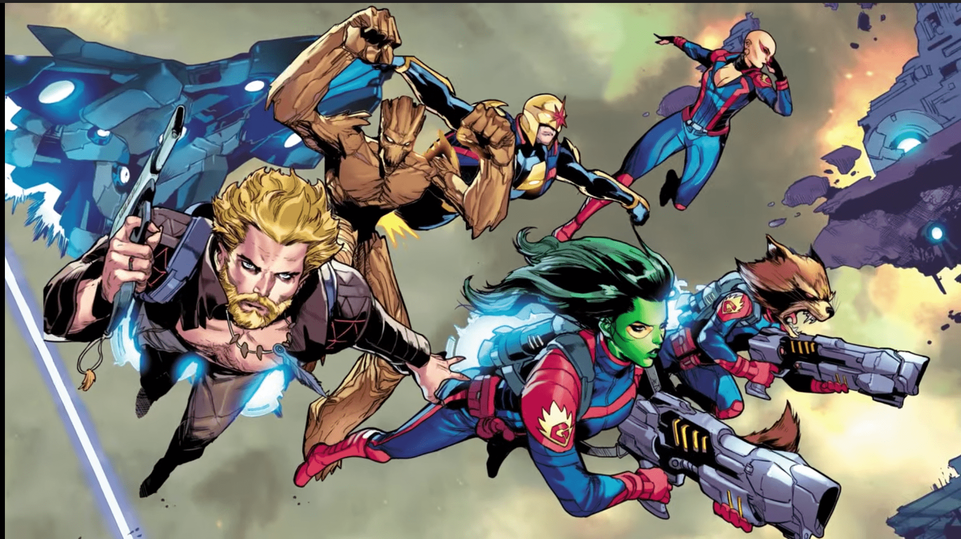 Marvel drops 'Guardians of the Galaxy' #13 trailer
