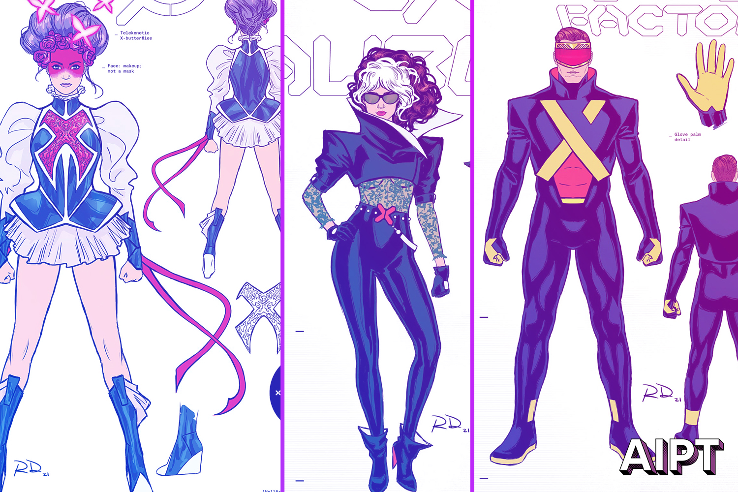 Marvel's X-Men are looking snazzy for the 'Hellfire Gala' in new Russell Dauterman costume designs