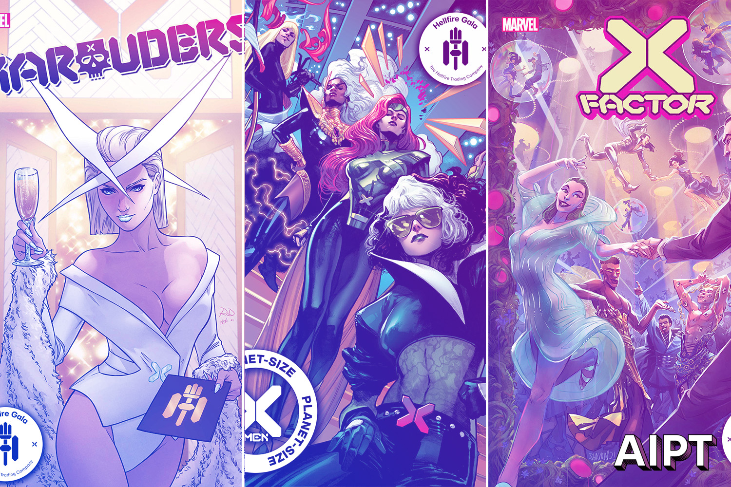 Covers and solicits for all 12 Hellfire Gala tie-in issues revealed