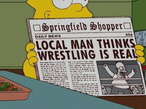 The 'F' Word: Why it's important to call wrestling fake