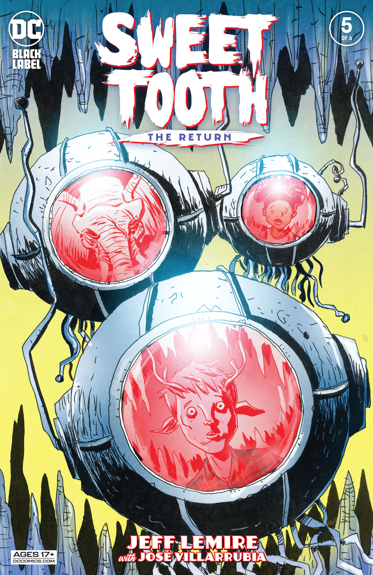 DC Preview: Sweet Tooth: The Return #5