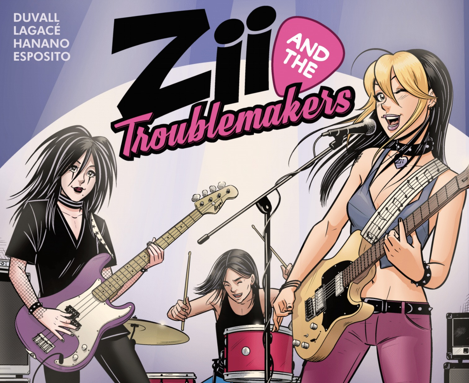 Pixie Trix Comix Preview: Zii and the Troublemakers