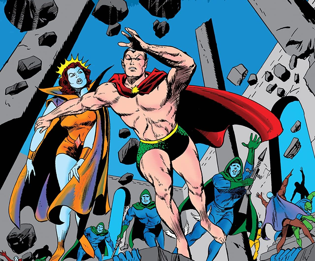 'Namor, the Sub-Mariner Epic Collection: Enter the Sub-Mariner' review: Silver age comics, bronze medal quality