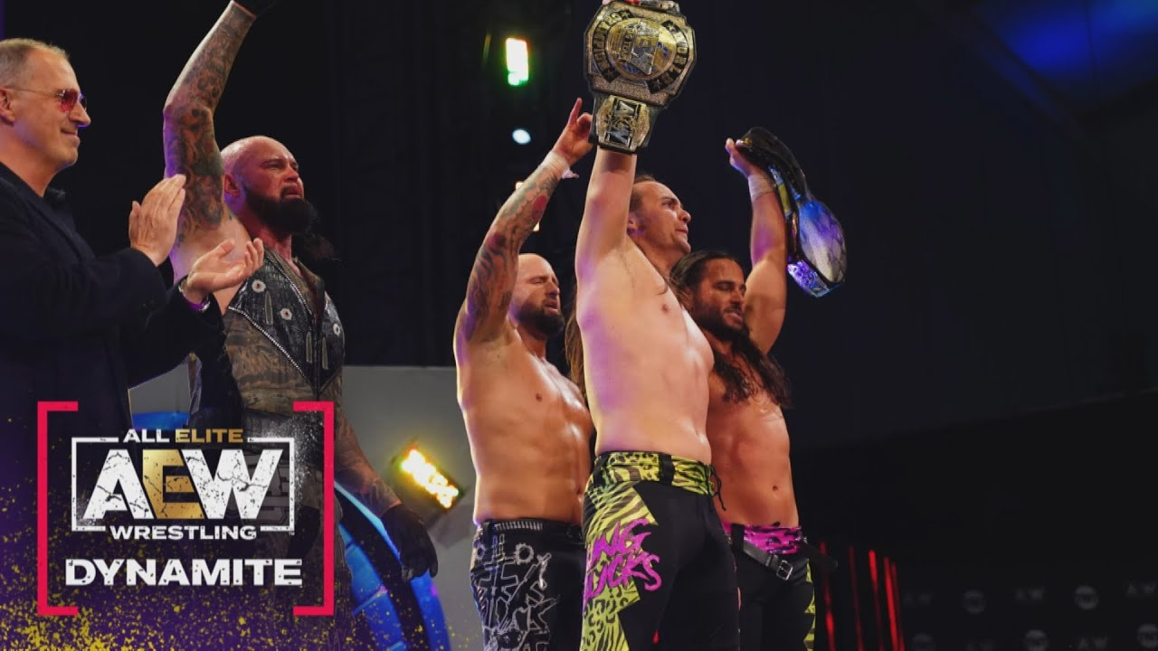The Elite reunites at the end of an incredibly entertaining AEW Dynamite