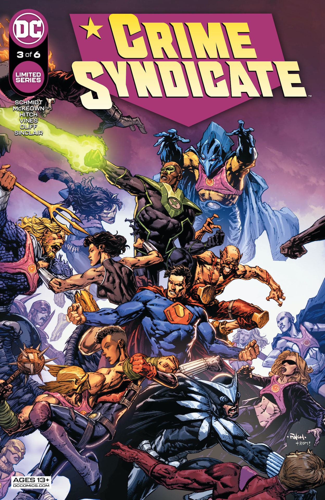 DC Preview: Crime Syndicate #3