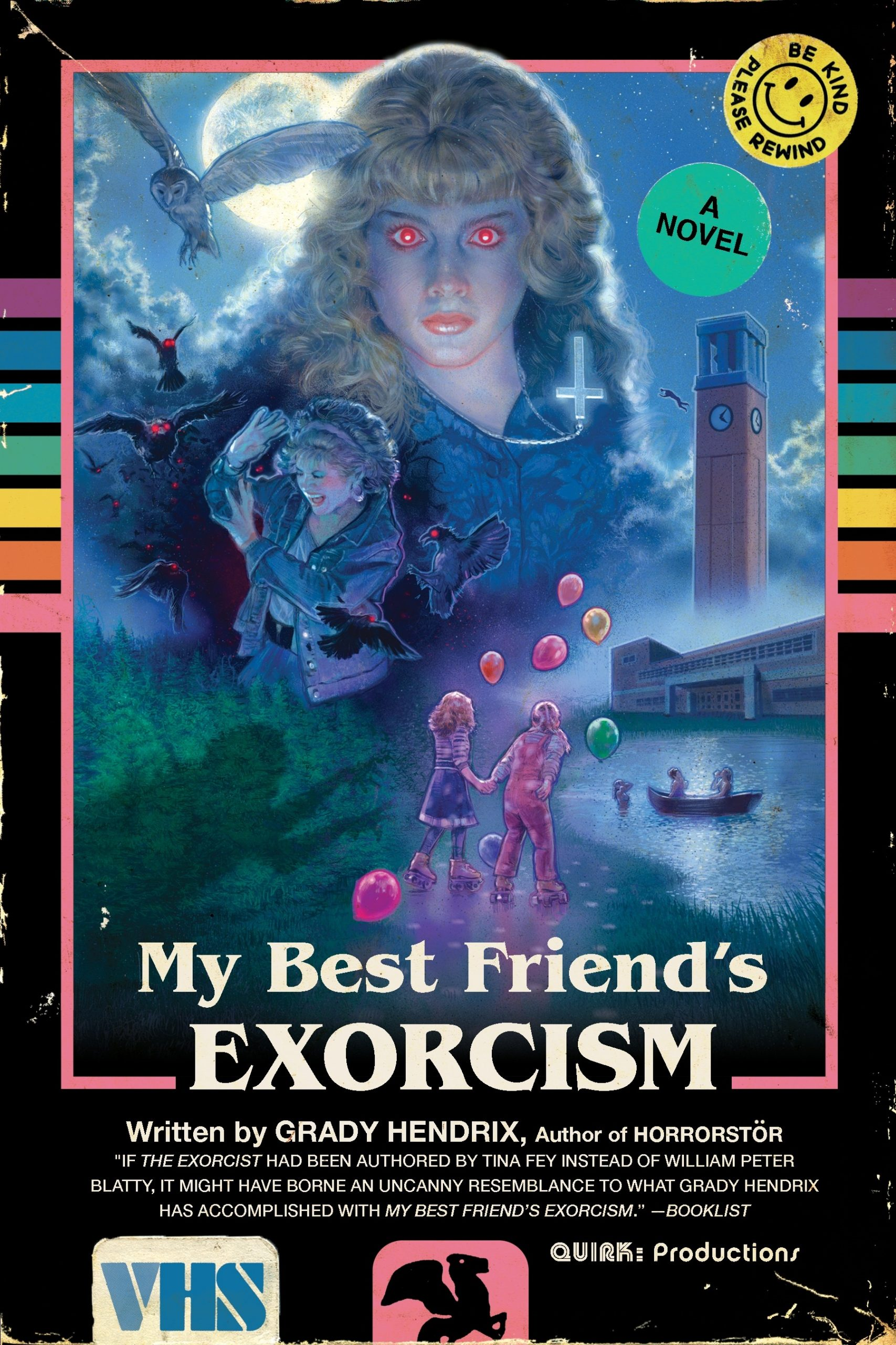 Grady Hendrix's horror novel 'My Best Friend's Exorcism' to get film adaptation