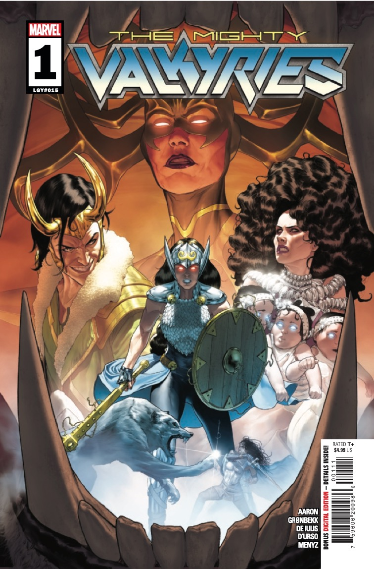 Marvel Preview: The Mighty Valkyries #1
