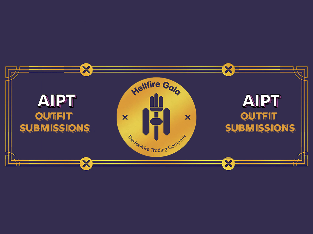 AIPT's Hellfire Gala outfit submissions now open