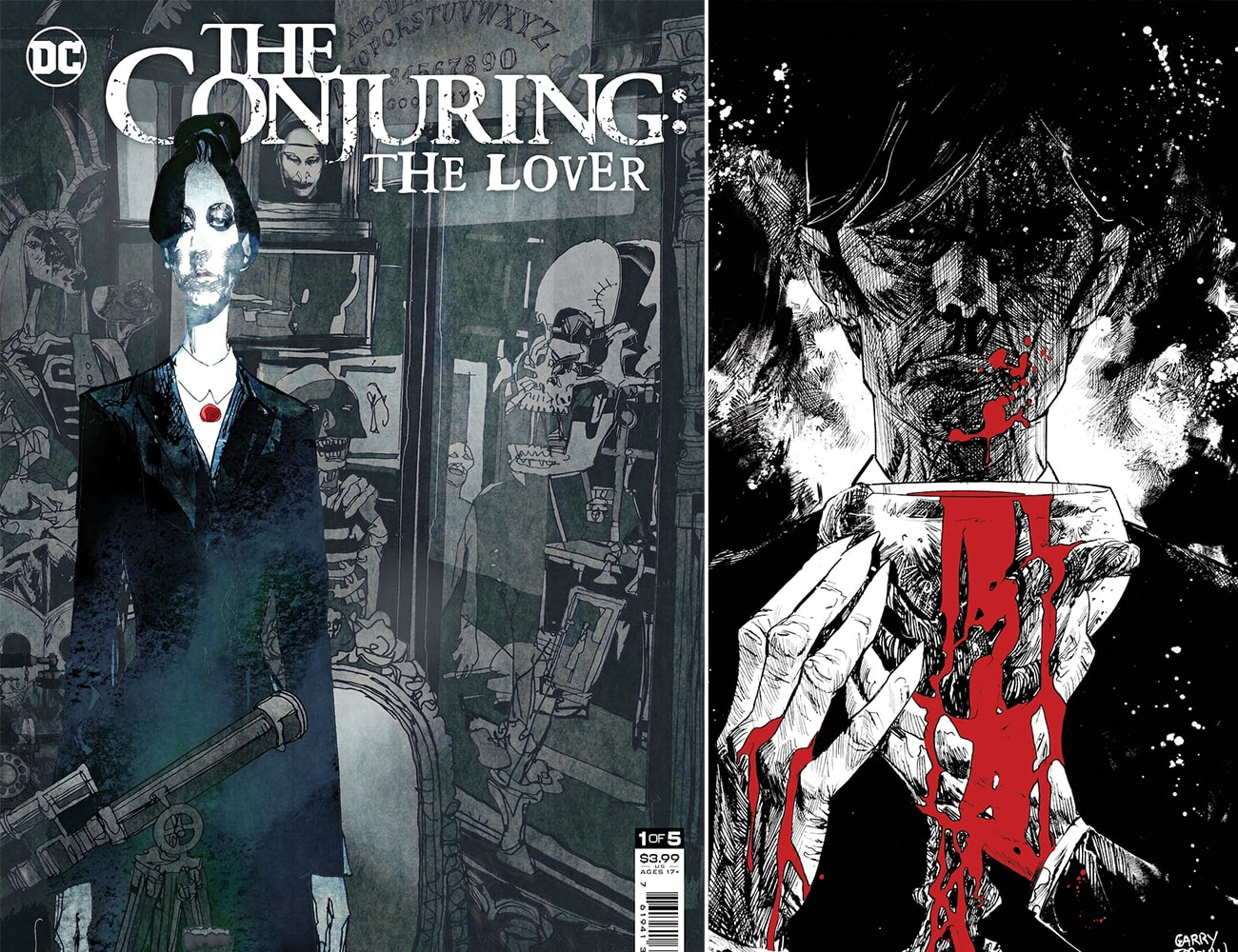 DC Comics launching horror imprint with 'The Conjuring: The Lover'