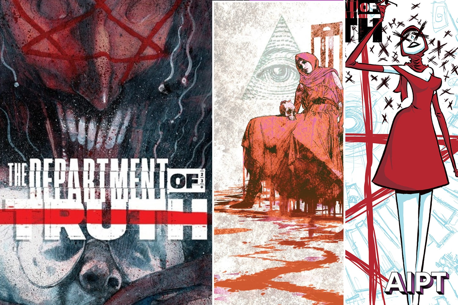 Image Comics reveals 'The Department of Truth' #8 variant art