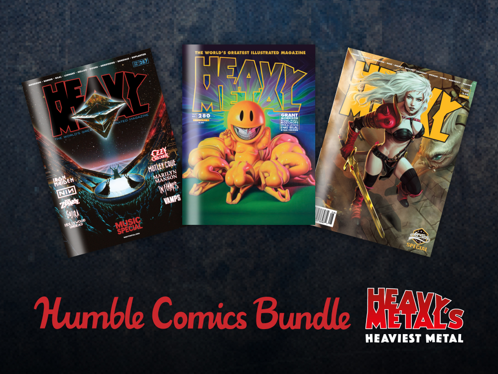 Heavy Metal and Humble Bundle team up for $341 bundle
