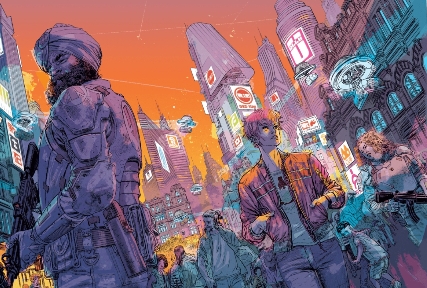 Alex de Campi and Duncan Jones talk 'Madi', action in storytelling, and humanity's future