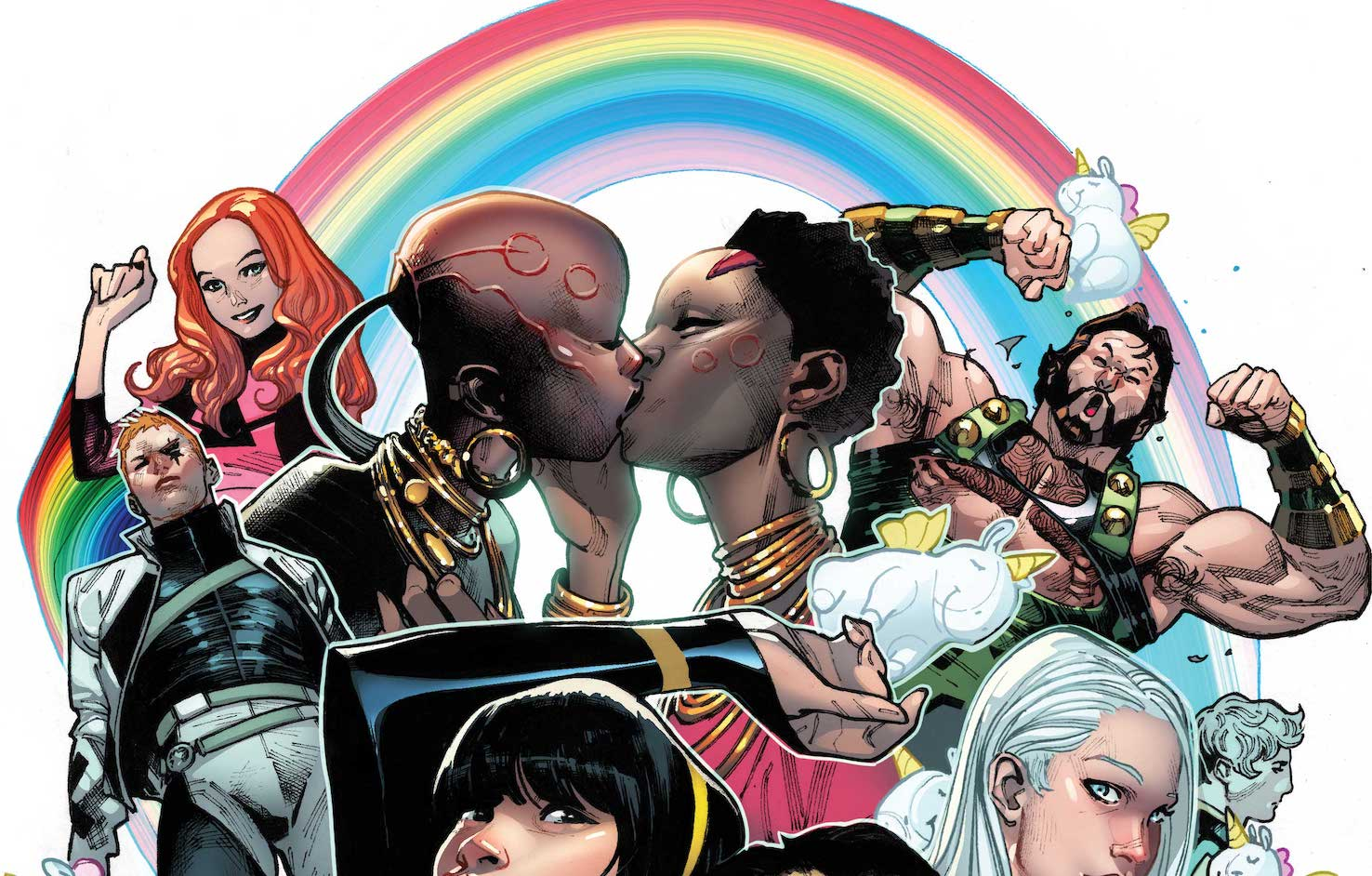 First Look: 'Marvel's Voices: Pride' #1 variant cover by Olivier Coipel