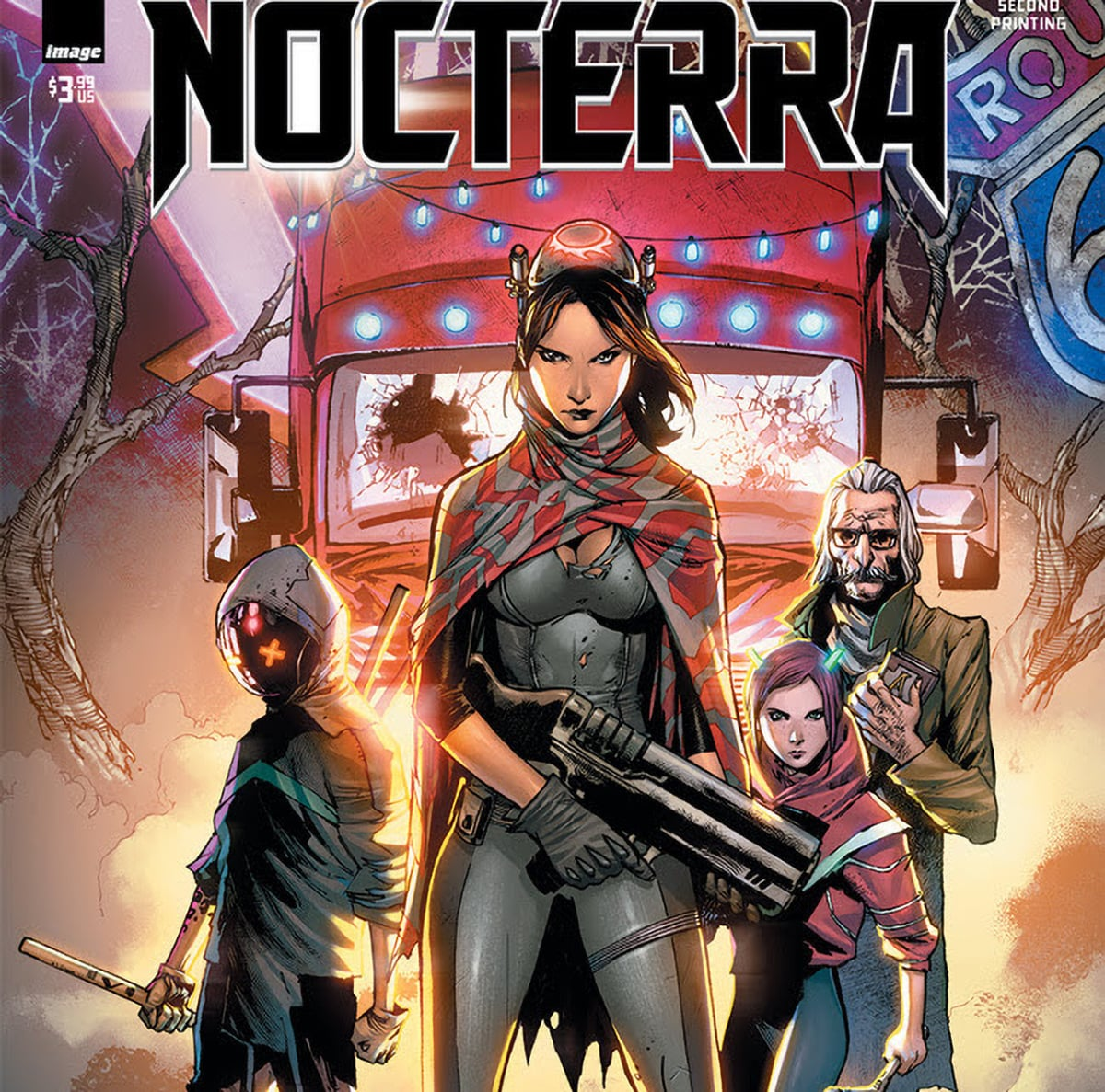 Image Comics' 'Nocterra' #2 sells out and goes back to print