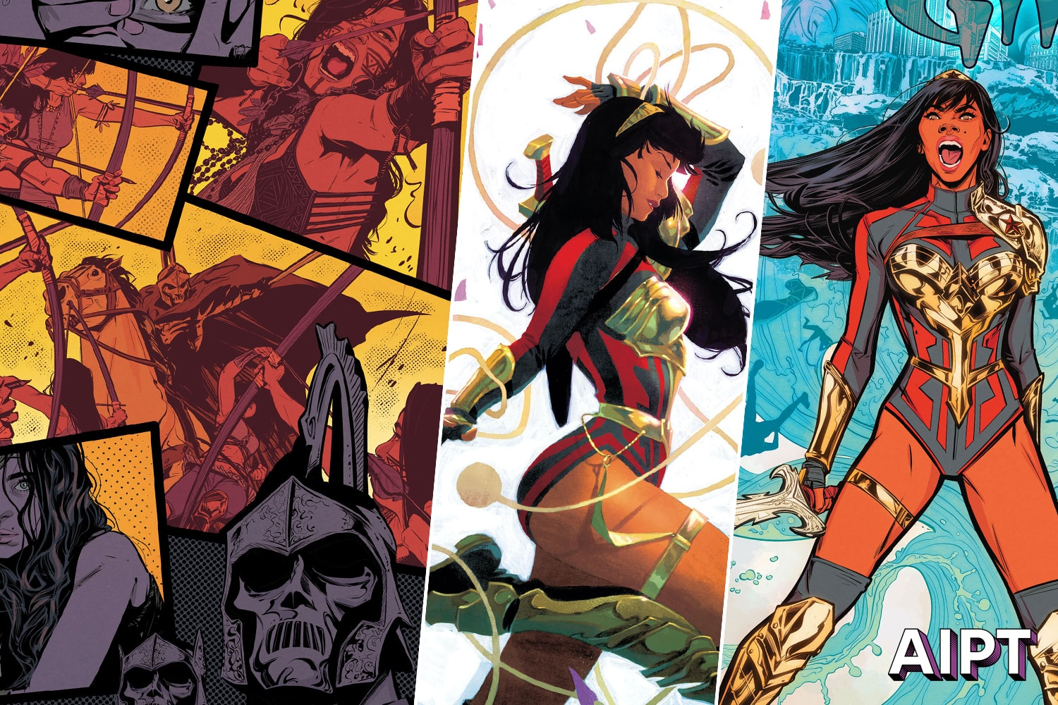 DC First Look: Wonder Girl #1, 2 and 3