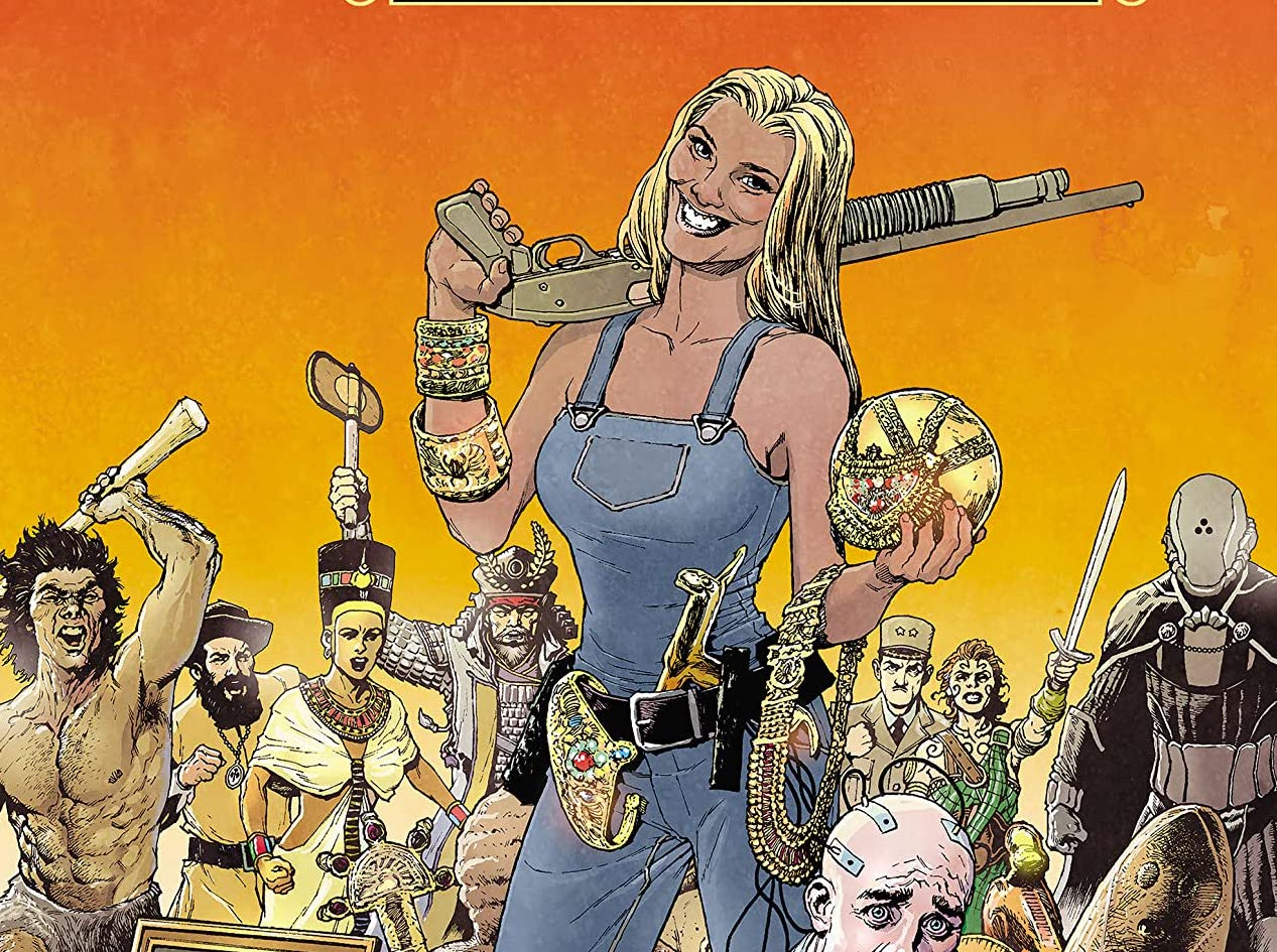 'Marjorie Finnegan: Temporal Criminal' #1 is a hysterical, unapologetic journey through time